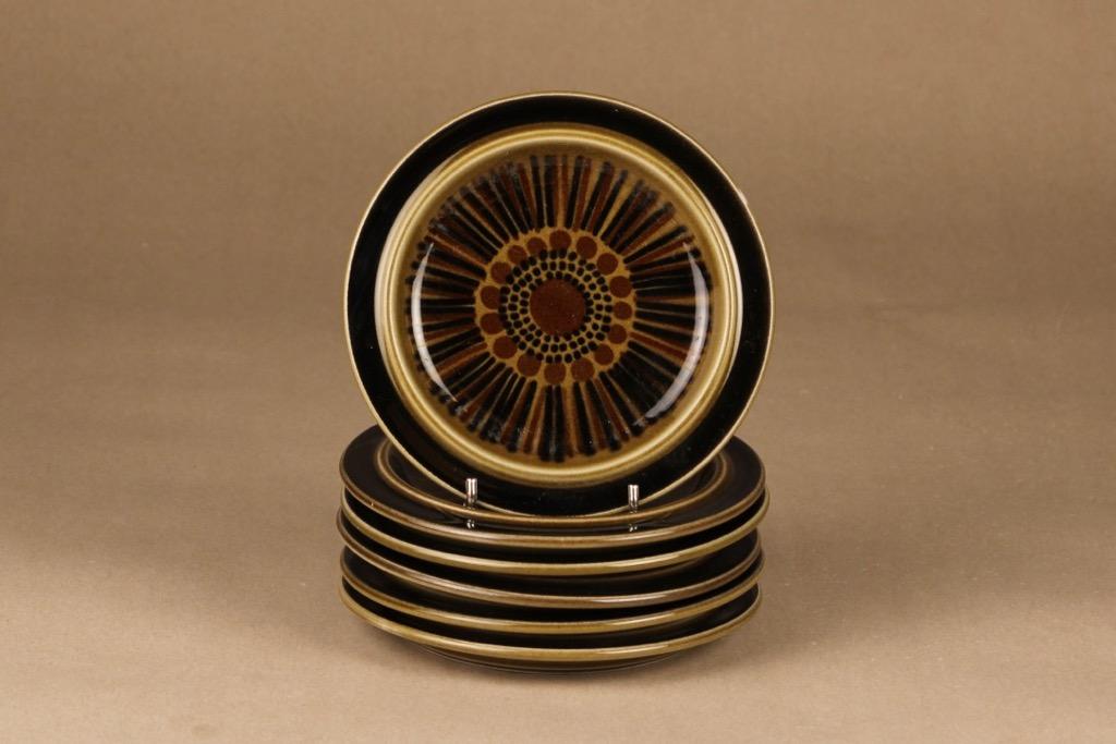 Arabia Kosmos plate, 6 pcs designer Gunvor Olin-Grönqvist