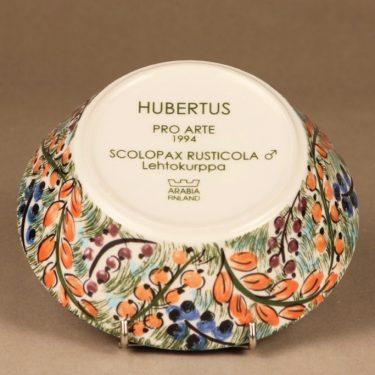 Arabia Hubertus kulho, käsinmaalattu, suunnittelija Dorrit von Fieandt, käsinmaalattu kuva 2