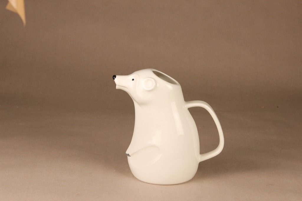 Arabia kaadin, jääkarhu, suunnittelija Richard Lindh, jääkarhu, 1,2 l