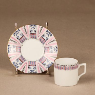 Arabia kahvikuppi, käsinmaalattu, pieni, suunnittelija , käsinmaalattu, pieni, signeerattu kuva 2