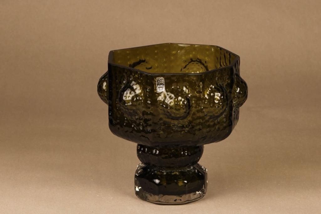 Riihimäen lasi Fontana vase designer Nanny Still