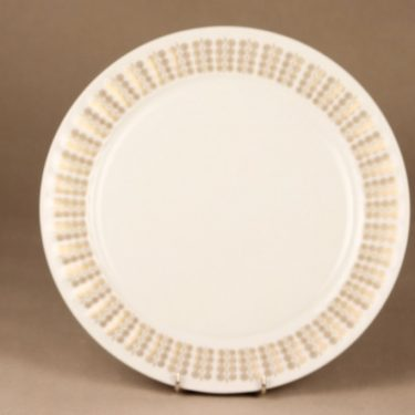 Arabia Pallas serving plate, gold designer Raija Uosikkinen