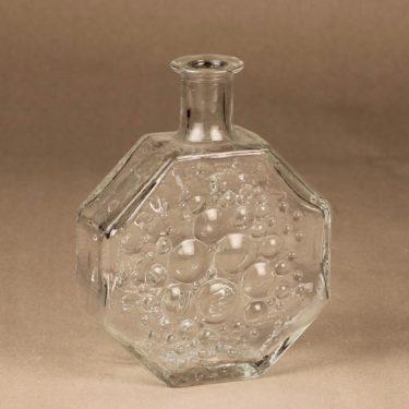 Riihimäen lasi 1720 koristepullo, Stella polaris, suunnittelija Nanny Still, Stella polaris