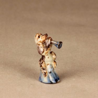 Kupittaan savi figuuri, koira, suunnittelija , koira, pieni, koira-aihe kuva 2