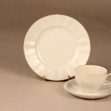 Arabia OZ coffee cup and plates, 5 pcs designer Kaj Franck 2