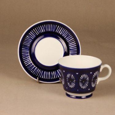 Arabia Fiesta kaakaokuppi, 60 cl, suunnittelija Ulla Procope, 60 cl, käsinmaalattu, signeerattu kuva 2