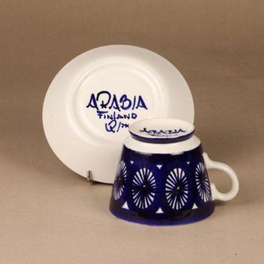 Arabia Fiesta kaakaokuppi, 60 cl, suunnittelija Ulla Procope, 60 cl, käsinmaalattu, signeerattu kuva 3