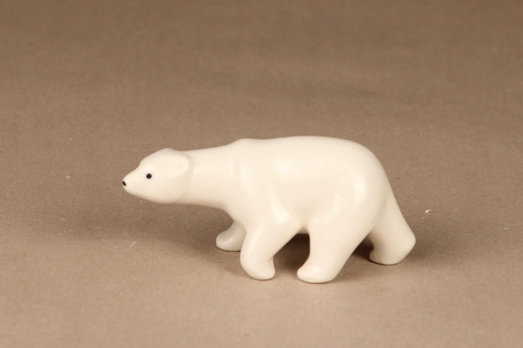 Arabia figuuri, karhu, suunnittelija Richard Lindh, karhu