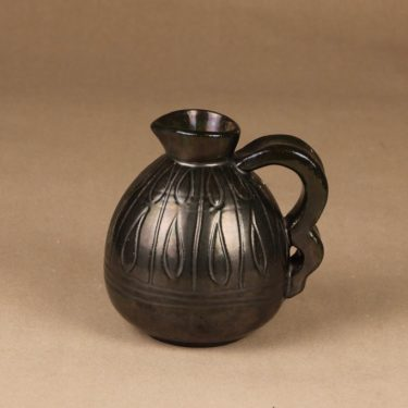 Kera vase, dark green