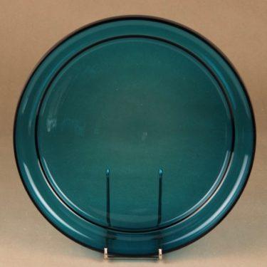 Riihimäen lasi tarjoiluvati, turkoosi, suunnittelija ,  kuva 2