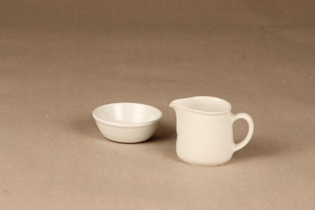 Arabia FL3 sugar bowl and creamer designer Kaj Franck