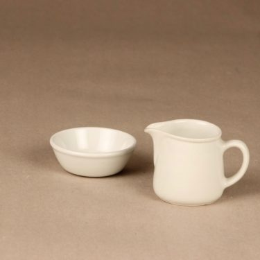 Arabia FL3 sugar bowl and creamer designer Kaj Franck