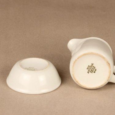 Arabia FL3 sokerikko ja kermakko, valkoinen, suunnittelija Kaj Franck,  kuva 2