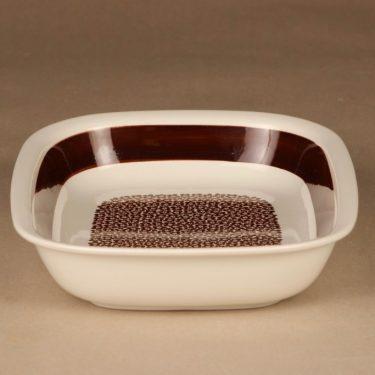 Arabia Faenza flower bowl, brown designer Inkeri Seppälä