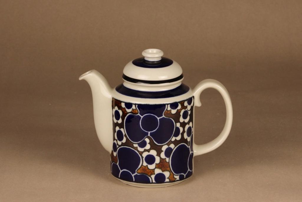 Arabia Saara kahvikaadin, 1 l, suunnittelija Anja Jaatinen-Winquist, 1 l, serikuva