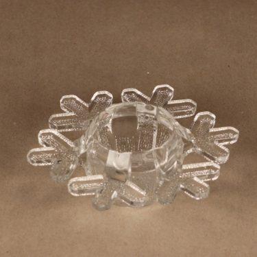 Iittala 2600 tuikkulyhty, Snow Crystal, suunnittelija Valto Kokko, Snow Crystal