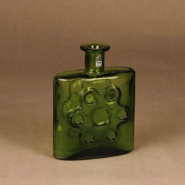 Riihimäen lasi 1729 decorative bottle Paukkurauta designer Erkkitapio Siiroinen