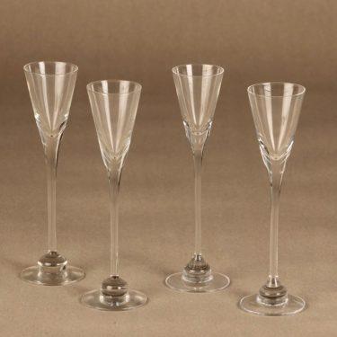 Iittala Aurora schnapps glass 4 pcs designer Heikki Orvola