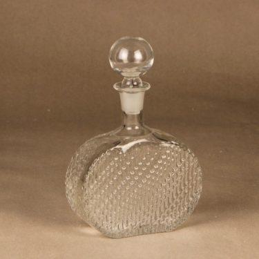 Riihimäen lasi Flindari bottle, 50 cl designer Nanny Still