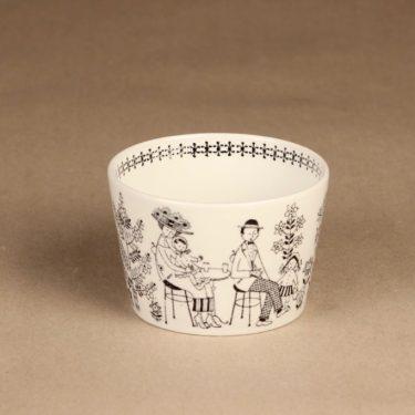 Arabia Emilia kahvikuppi ja erikoislautanen, 18 cl, suunnittelija Raija Uosikkinen, 18 cl, kuparipainokoriste kuva 5