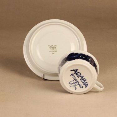 Arabia Anemone tea cup, hand-painted designer Ulla Procope 3