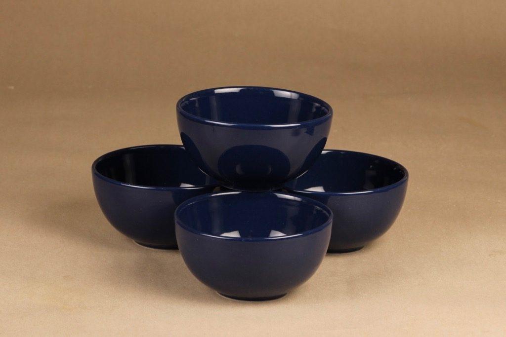 Arabia Teema dessert bowl, 4 pcs designer Kaj Franck