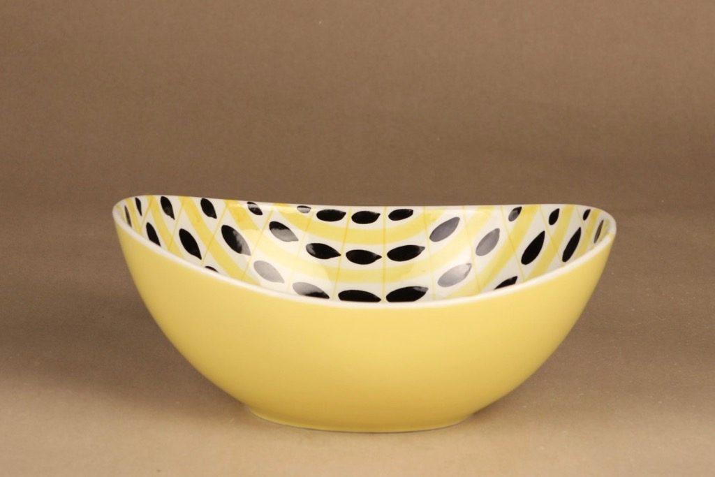 Arabia AR bowl, hand-painted designer Olga Osol