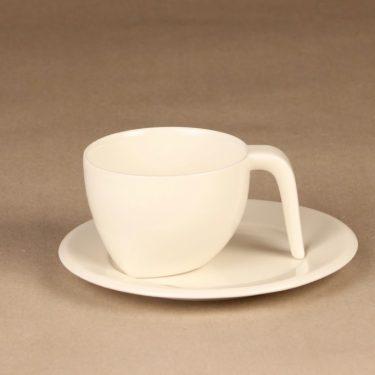 Iittala Ego kahvikuppi, valkoinen, suunnittelija Stefan Lindfors,