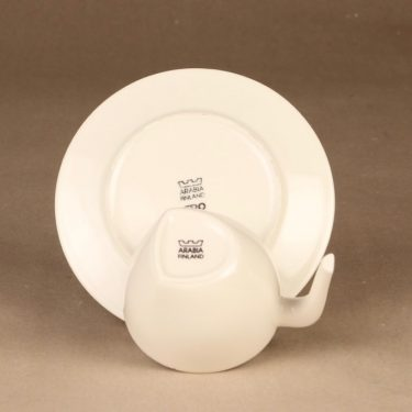 Iittala Ego kahvikuppi, valkoinen, suunnittelija Stefan Lindfors,  kuva 3