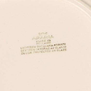 Arabia Sampo lautanen, syvä, 6 kpl, suunnittelija Raija Uosikkinen, syvä, serikuva kuva 3