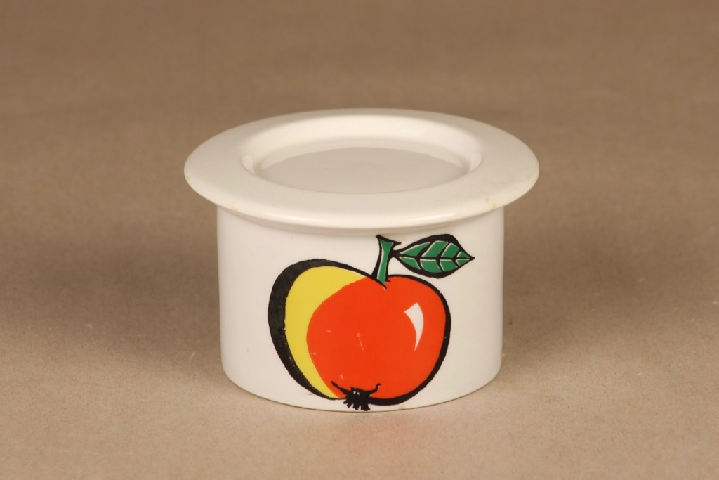 Arabia Tutti frutti jar Apple designer Ulla Procope