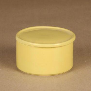 Arabia Kilta purnukka, keltainen, suunnittelija Kaj Franck,