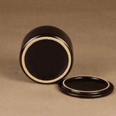 Arabia Kilta purnukka, musta, suunnittelija Kaj Franck,  kuva 3