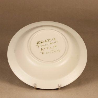 Arabia PW lautanen, käsinmaalattu, suunnittelija Raija Uosikkinen, käsinmaalattu kuva 3