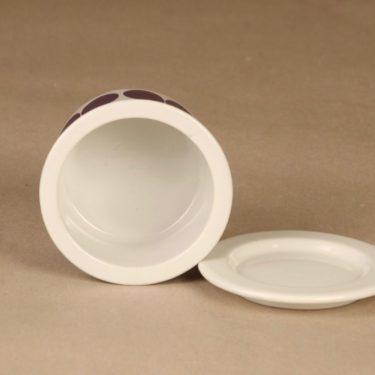 Arabia Pomona  jar, plum designer Raija Uosikkinen 2