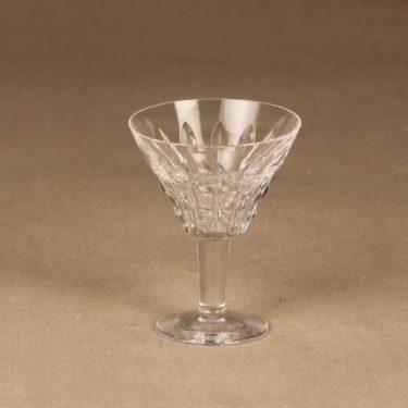 Riihimäen lasi Polar väkevä viinilasi, jalallinen, suunnittelija Aimo Okkolin, jalallinen