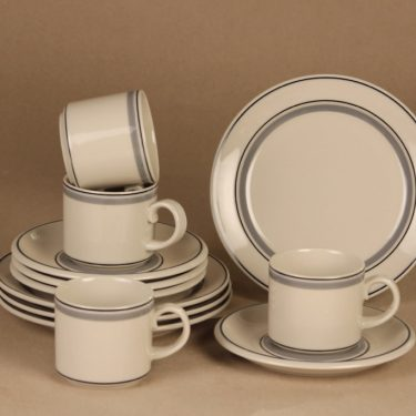 Arabia Usva coffee set for 6 person designer Anja Jaatinen-Winquist