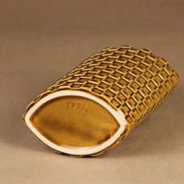Arabia Harlekiini maljakko, ruskea, suunnittelija Kaarina Aho,  kuva 2