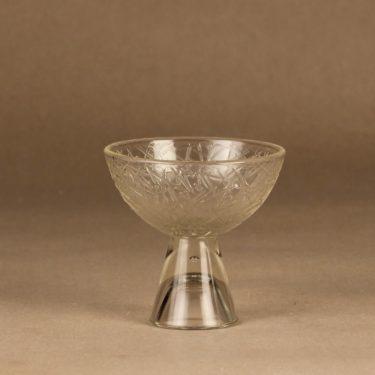 Riihimäen lasi Tikku sokerikko ja kermakko, kirkas, suunnittelija Nanny Still,  kuva 2