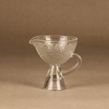 Riihimäen lasi Tikku sokerikko ja kermakko, kirkas, suunnittelija Nanny Still,  kuva 3