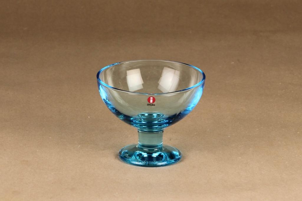 Iittala Verna dessert bowl, light blue designer Kerttu Nurminen
