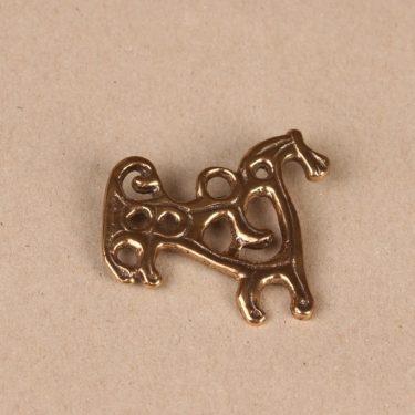 Kalevala Koru Suomussalmen hevonen rintakoru, pronssi, suunnittelija ,
