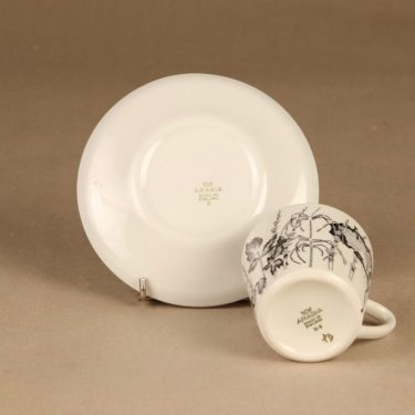 Arabia Flora kahvikuppi, suunnittelija , Kukka-aihe kuva 3