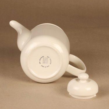 Arabia Arctica   kahvikaadin, valkoinen, suunnittelija Inkeri Leivo,  kuva 2