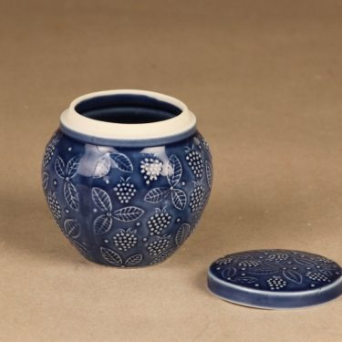 Arabia Chymos hillopurkki, sininen, suunnittelija ,  kuva 2