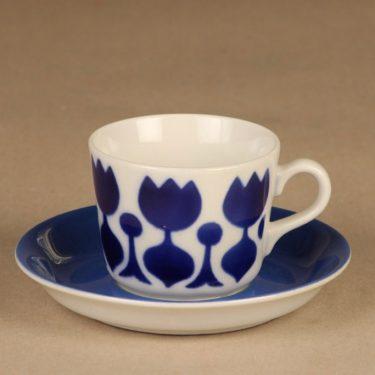 Arabia Tulppaani kahvikuppi, puhalluskoriste, suunnittelija , puhalluskoriste, Kukka-aihe