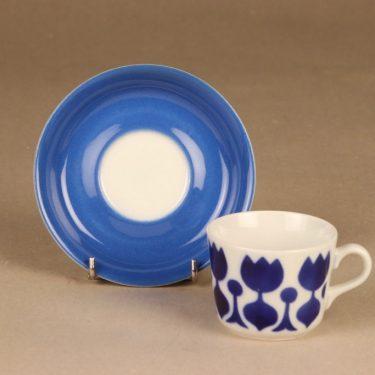 Arabia Tulppaani kahvikuppi, puhalluskoriste, suunnittelija , puhalluskoriste, Kukka-aihe kuva 2