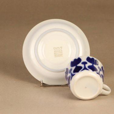 Arabia Tulppaani kahvikuppi, puhalluskoriste, suunnittelija , puhalluskoriste, Kukka-aihe kuva 3