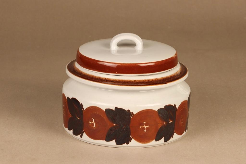 Arabia Rosmarin bowl with lid designer Ulla Procope