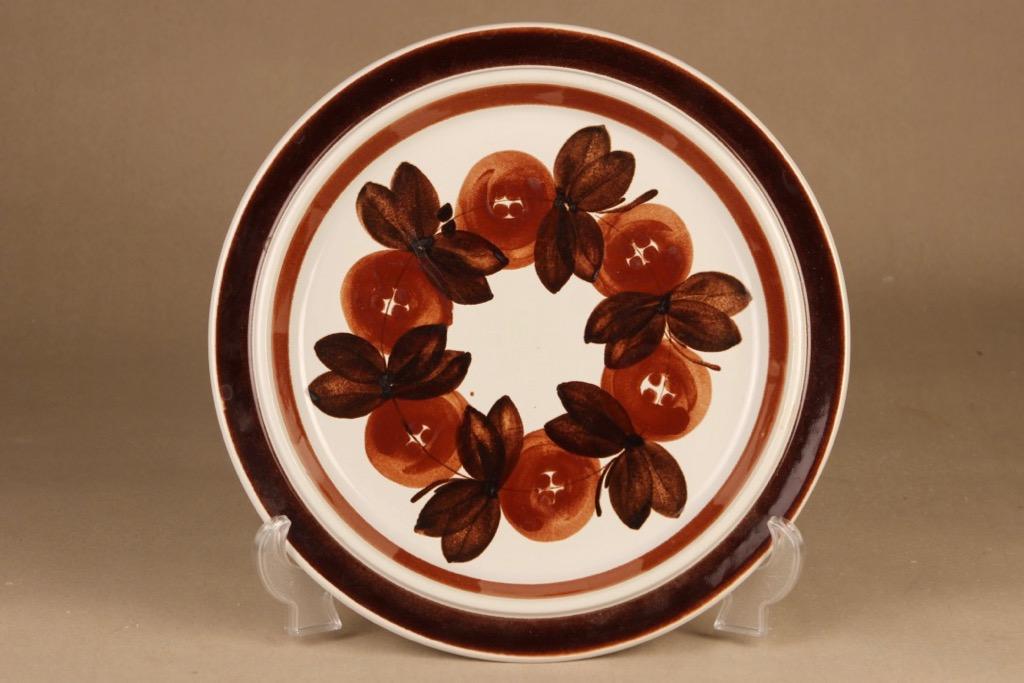 Arabia Rosmarin serving plate, hand-painted designer Ulla Procope